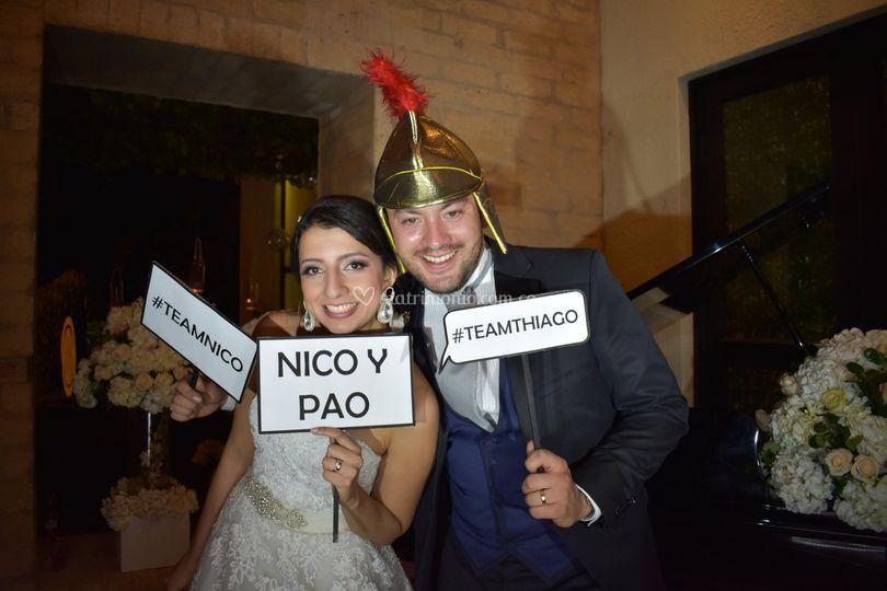 Nico y pao