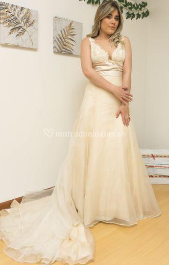 Vestido Maria Organzas