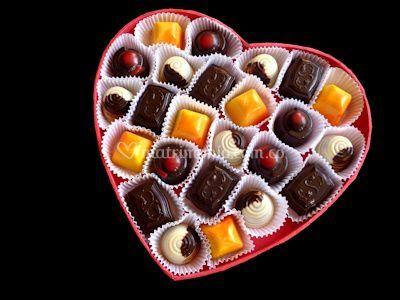 Caja corazón por 24 piezas