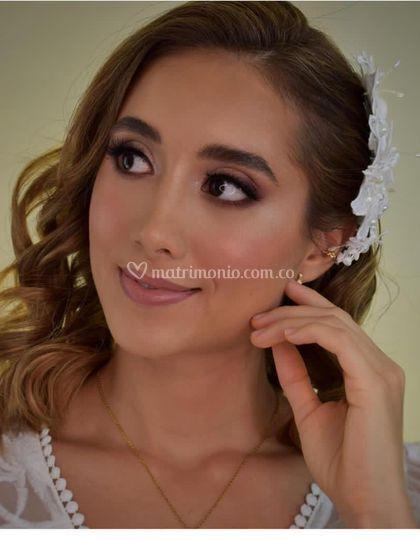 Maquillaje natural para novia