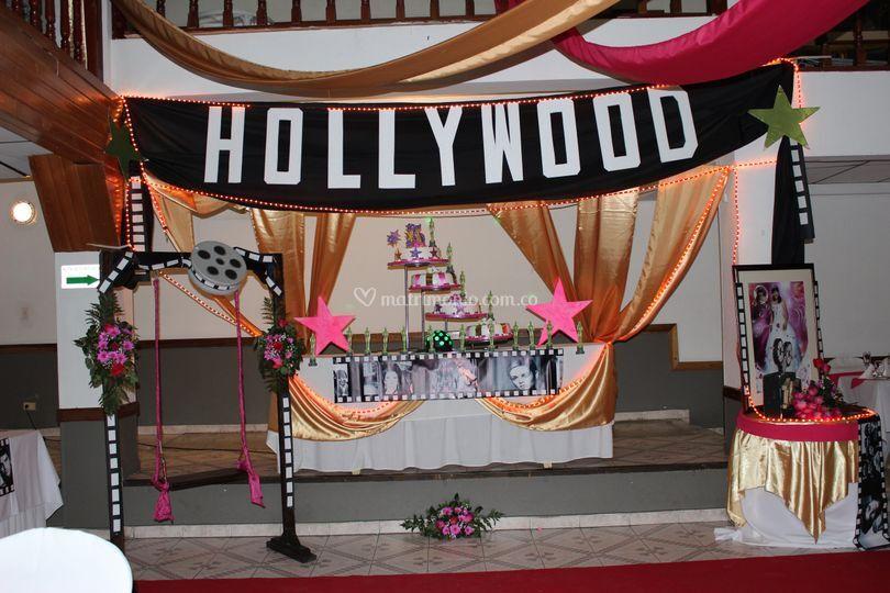 Fiesta de quince en Hollywood de Salón Calidad