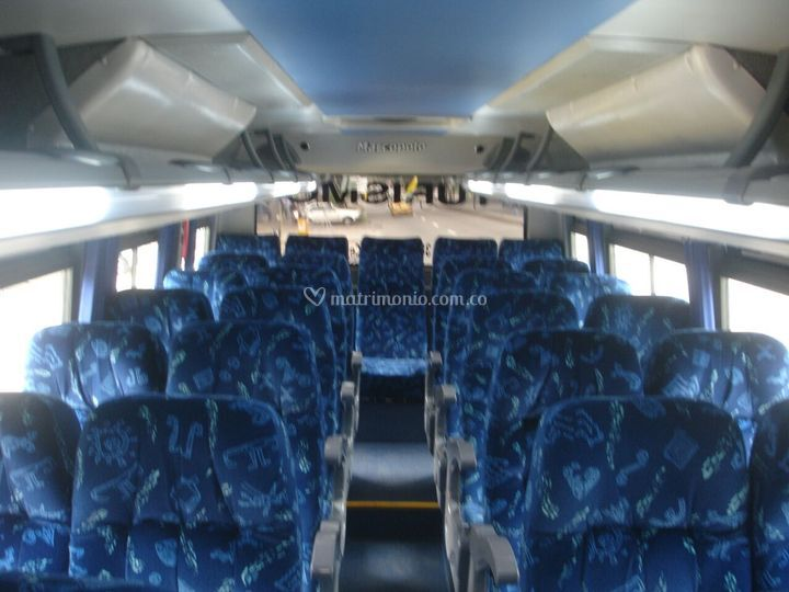 Buses interior