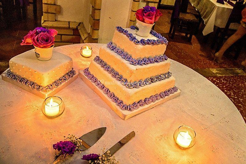 Decoracion torta