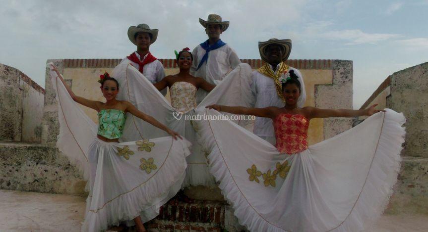 Bailarines de hora loca