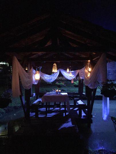 Cenaromantica  nuestro muelle