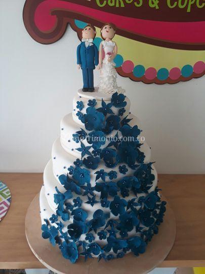 Torta Matrimonio 5 pisos