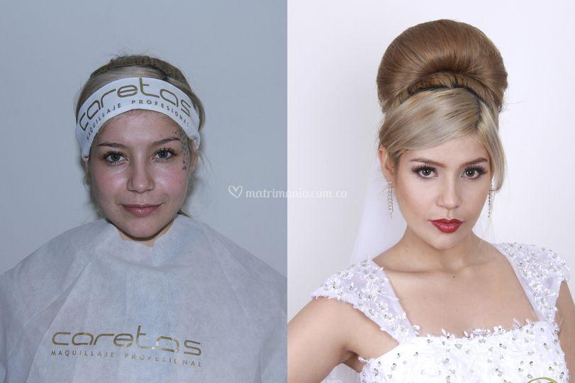 Maquilladora:  yeimy mendieta