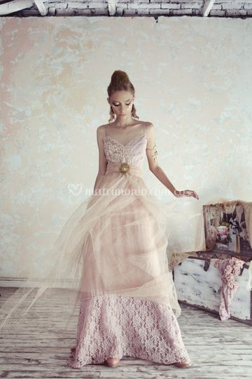 Pink tul