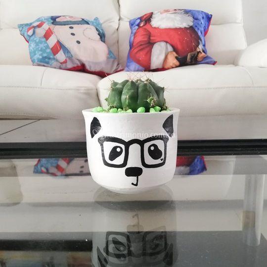 Maceta Panda
