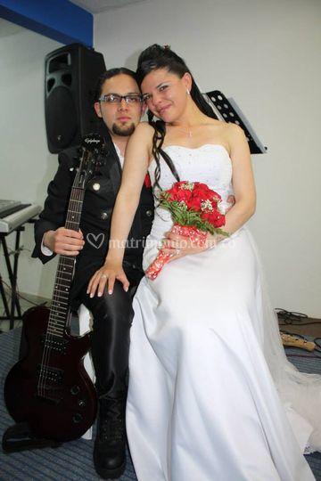 Matrimonio temático Rock