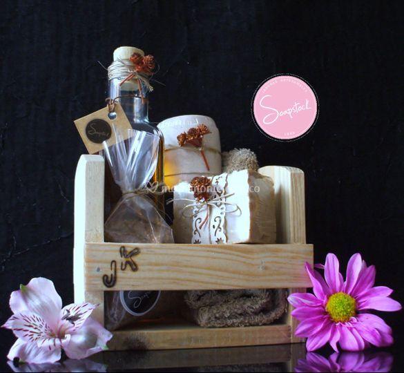 Set producto de bano chocolate