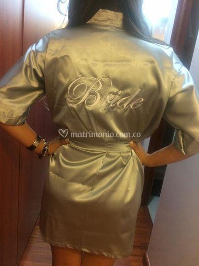 Batas de novia bordadas