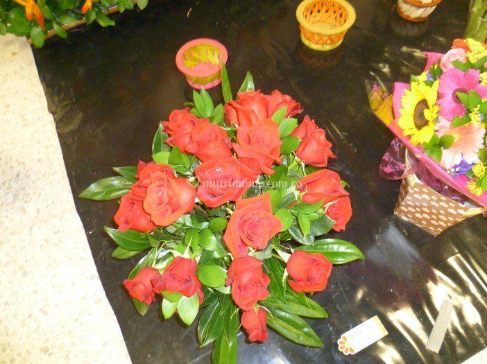 Arreglos florales surtidos
