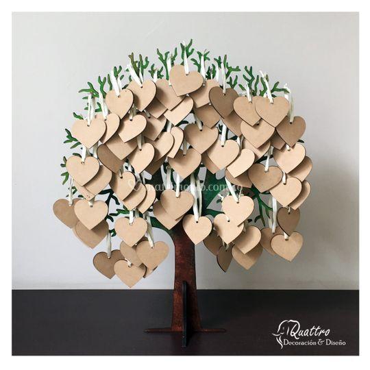 Árbol de los deseos para 100 c