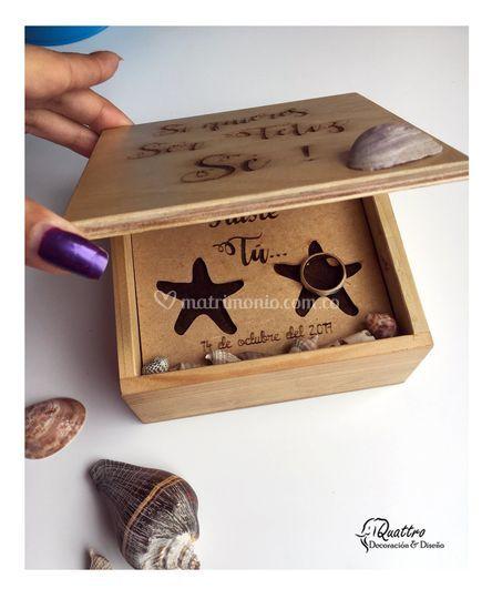 Caja de argollas
