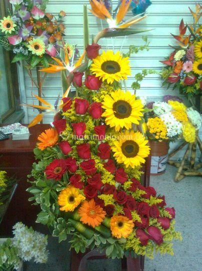 8bef47f2f2e0c Variedad de flores de Floristería Flores y Diseños