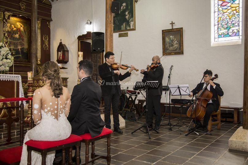 Ceremonia cuarteto de cuerdas