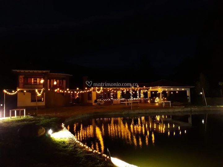 Reflejo lago