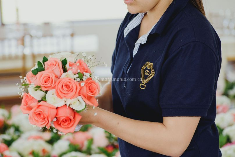 Bouquet damas de honor
