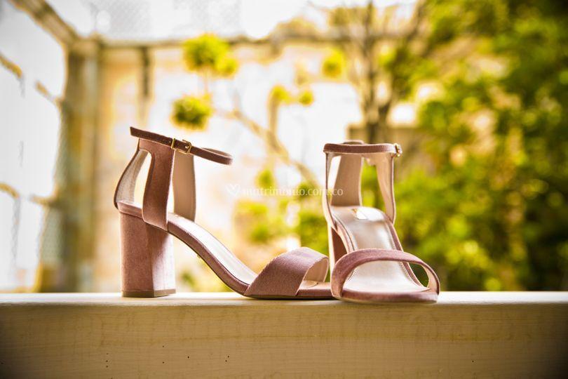 Boda, zapatos novia