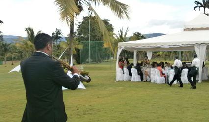 Saxo & Guitar Wedding 1