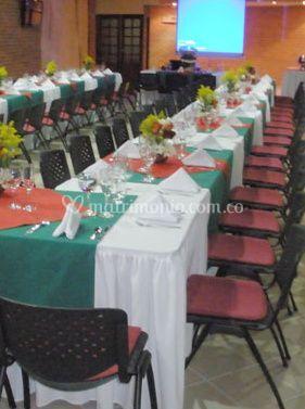 Salón para eventos de Hotel Los Corales