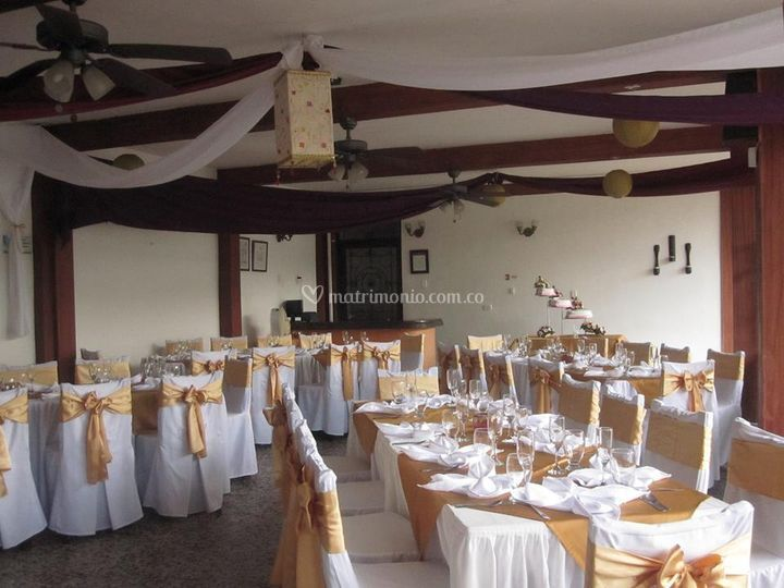 Matrimonio en el restaurante