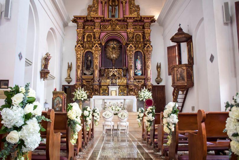 Boda Iglesia Santo Toribio