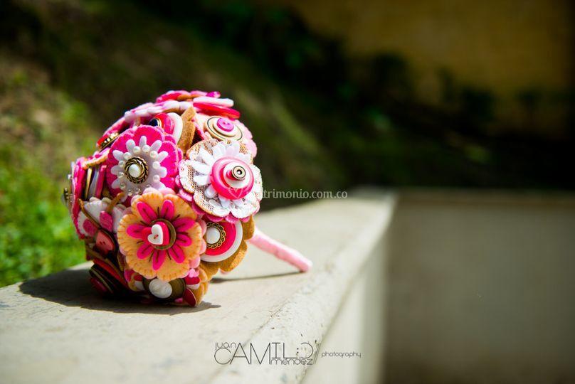 Bouquet en rosa