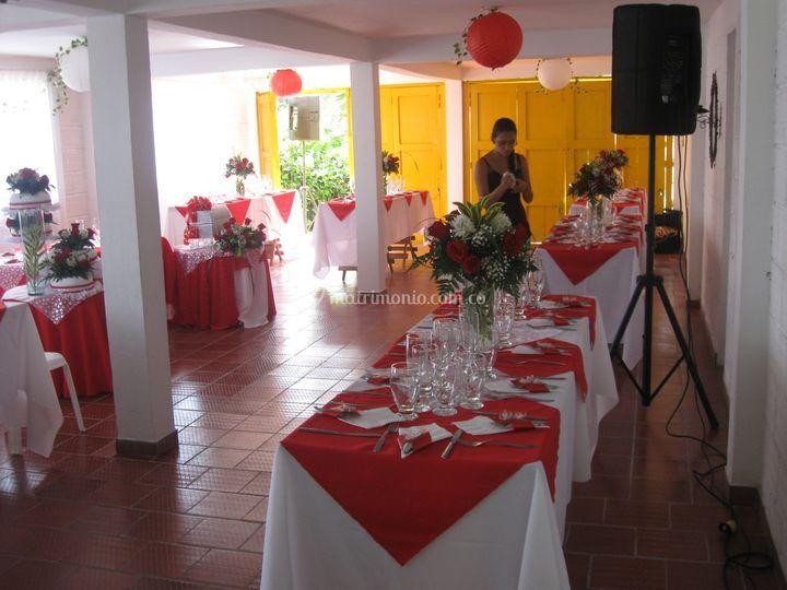 Evento organizado por cliente