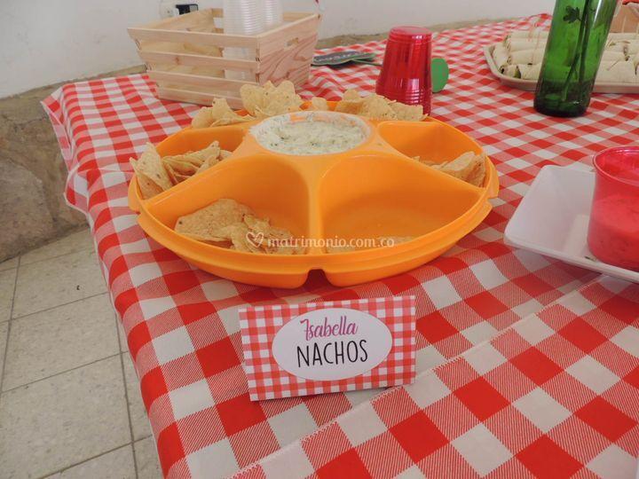 Letreros comidas