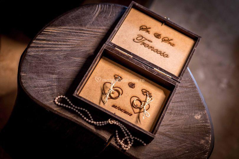Caja de anillos
