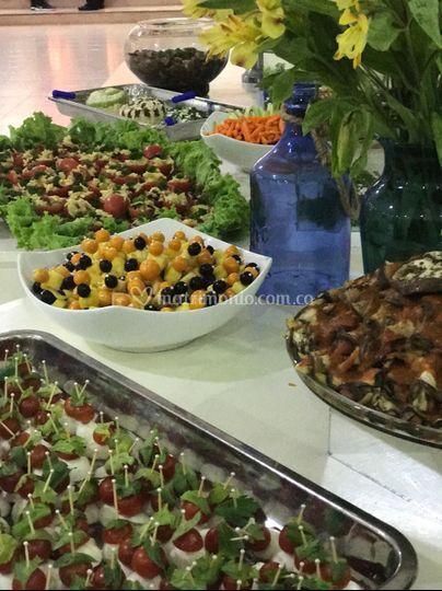 Catering boda pasabocas