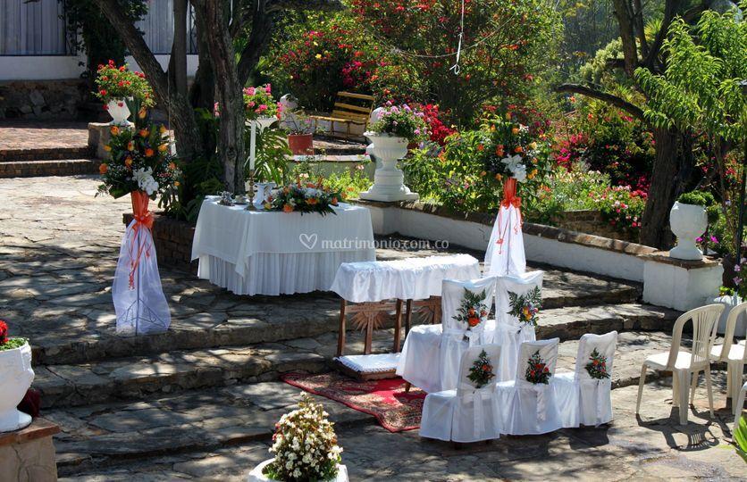 Matrimonio en los Jardines
