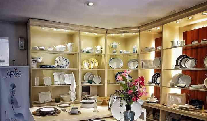 Vajillas europeas en porcelana