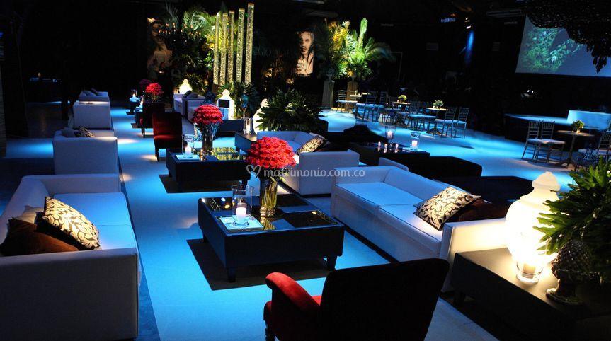 Salas Lounge y elementos deco