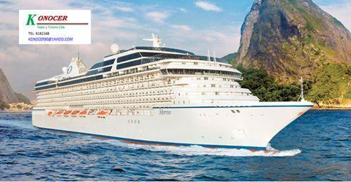 Cruceros or el  Caribe