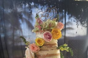 Petunias Cake