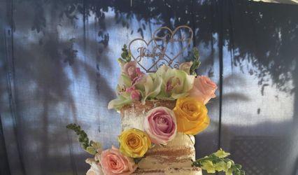Petunias Cake 1