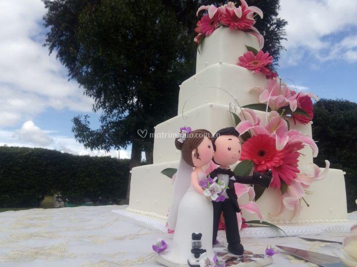Ponque de matrimonio
