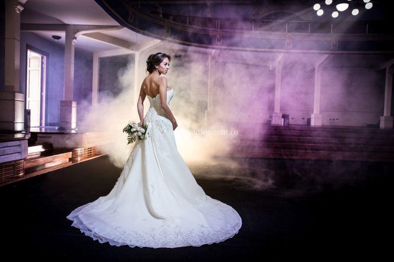 Fotografía vestido de novia