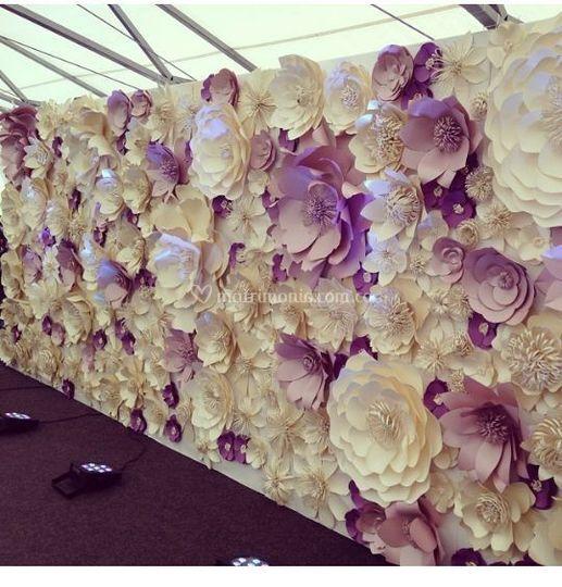 Mural flores varias