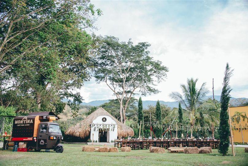 Recepción Villa del Marques