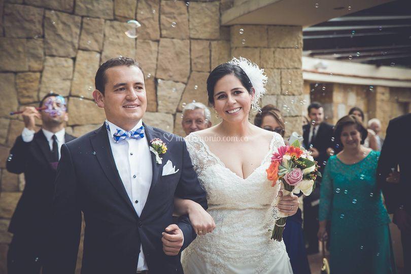 Novias Casarosa vestidos