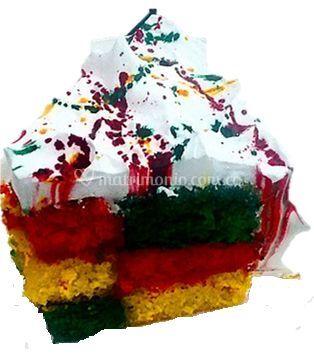 Torta de cuadritos