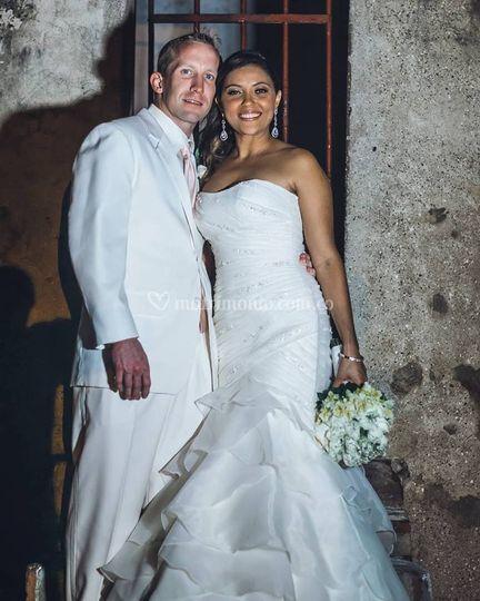 Sandra Robles & Landon Sharp
