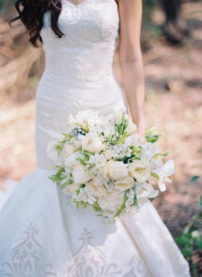 Hermoso bouquet de novia
