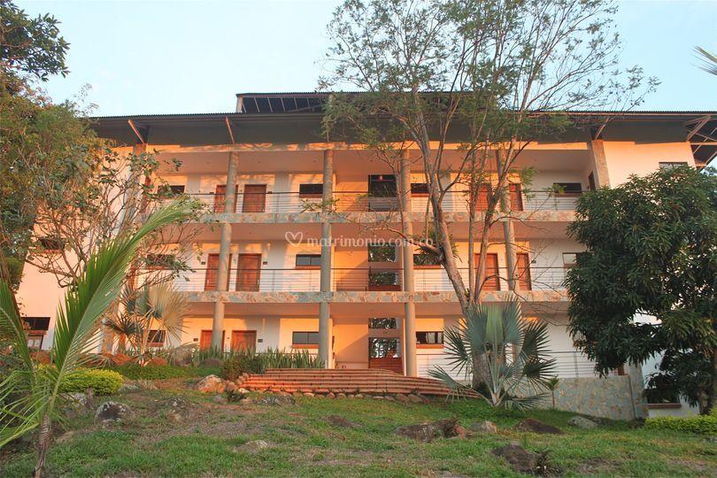 Otra vista del hotel