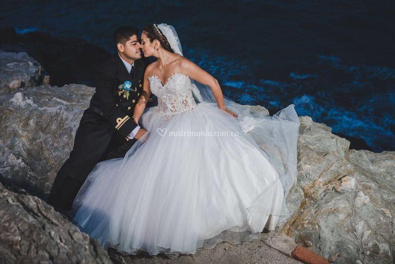 Vestido novia princesa n-114