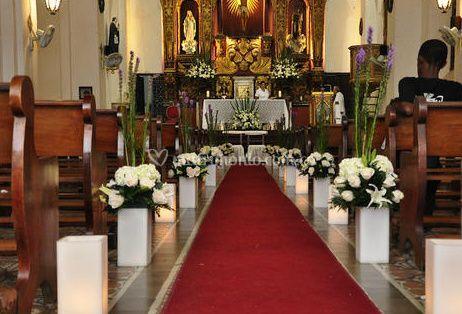 La decoración de la Iglesia